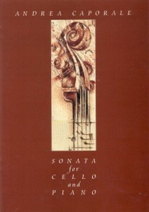Andrea Caporale: Sonata for Cello and Piano